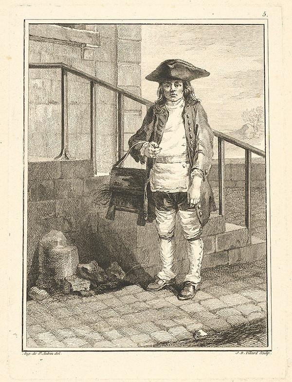 Jean Baptist Tillard, Augustin de Saint-Aubin – Parížsky uličník č.5