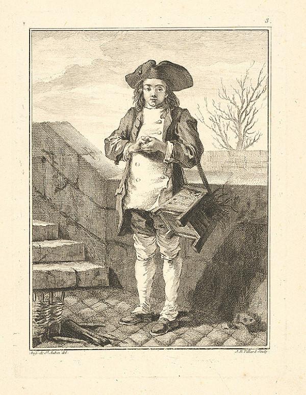 Jean Baptist Tillard, Augustin de Saint-Aubin – Parížsky uličník č.3