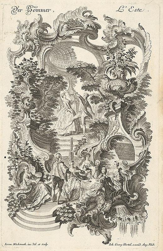 Jeremias Wachsmuth, Johann Georg Hertel - Leto