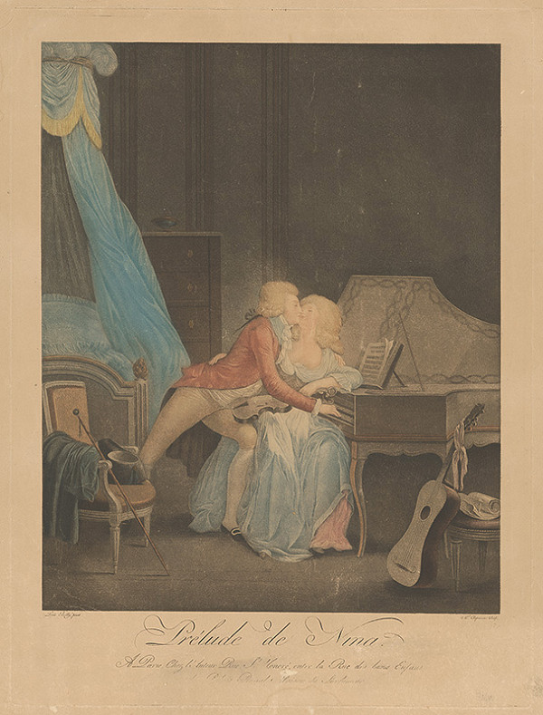Alexandre Chaponier, Louis Boilly – Ľúbostná scéna