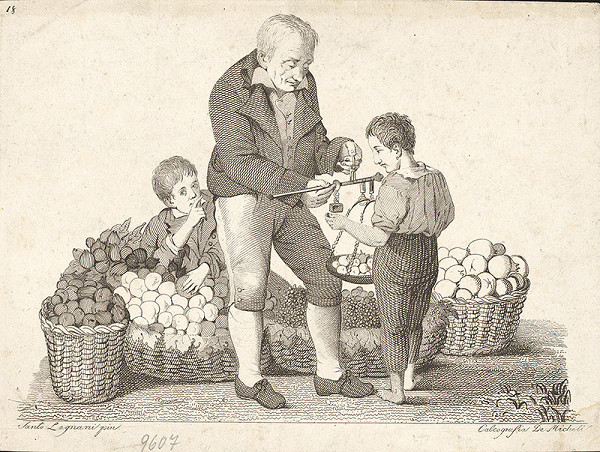 de Micheli, Santo Legnani – Ovocinár