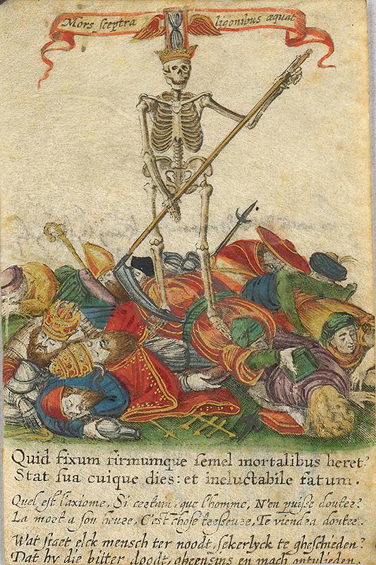 Stredoeurópsky grafik z prelomu 16. - 17. storočia – Smrť