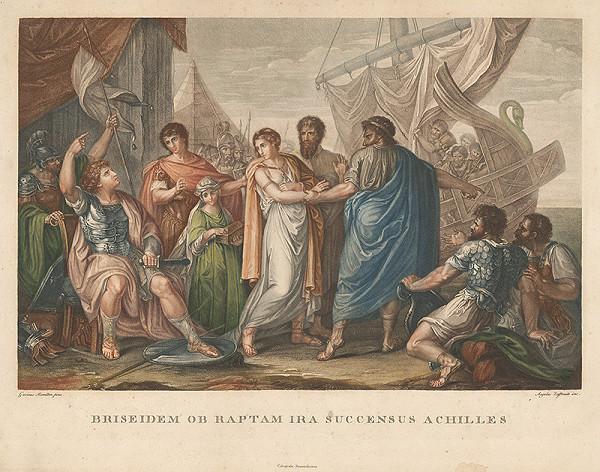 Angelo Zaffonato, Gavin Hamilton – Výjav zo života Achillesa I.