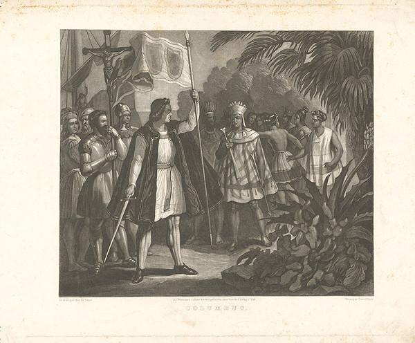 Christian Mayer, Anton de Perger - Kolumbus