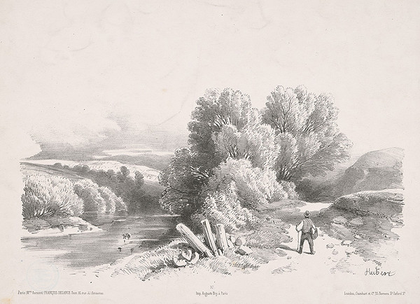 Jean-Baptiste Louis Hubert – Slnečný deň