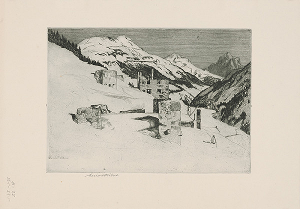 Robert Lénárd – V horách