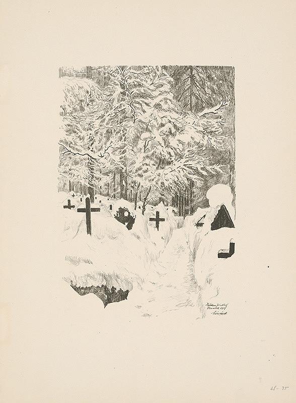 Robert Lénárd – Cintorín v zime