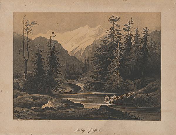 Stredoeurópsky grafik z 19. storočia – Krajina