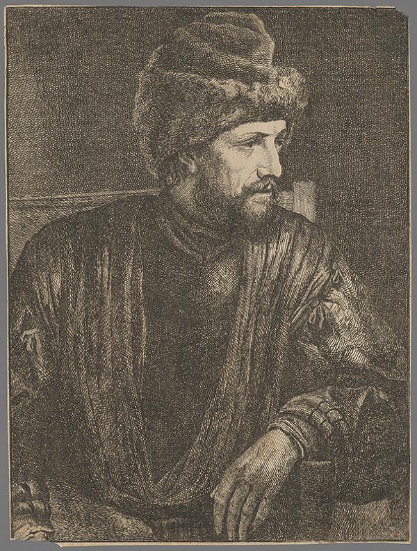 Stredoeurópsky grafik zo 17. storočia - Podobizeň muža