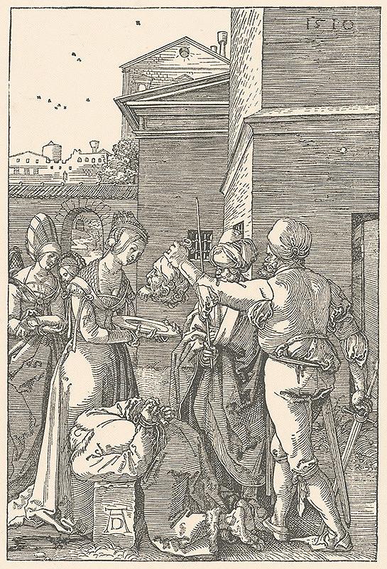 Albrecht Dürer – Sťatie sv. Jána Krstiteľa