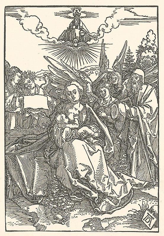 Albrecht Dürer - Glorifikácia Panny Márie