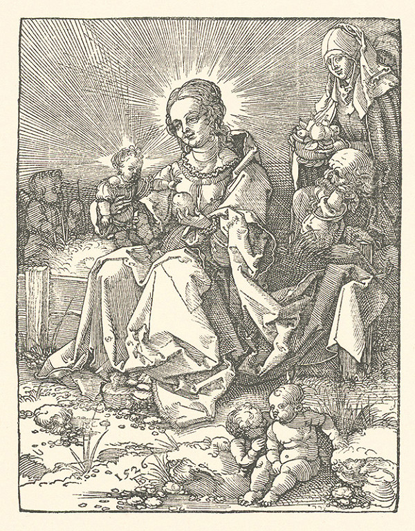 Albrecht Dürer - Mária s Ježišom