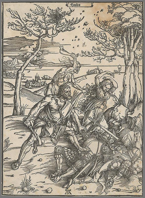 Albrecht Dürer – Herkules