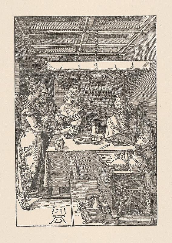Albrecht Dürer – Salome prináša hlavu sv.Jána Krstiteľa