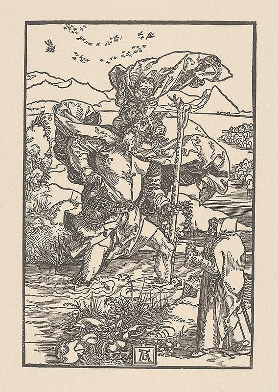 Albrecht Dürer - Svätý Krištof