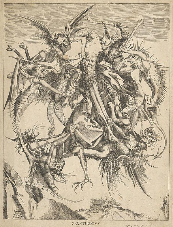 Albrecht Dürer - Svätý Anton