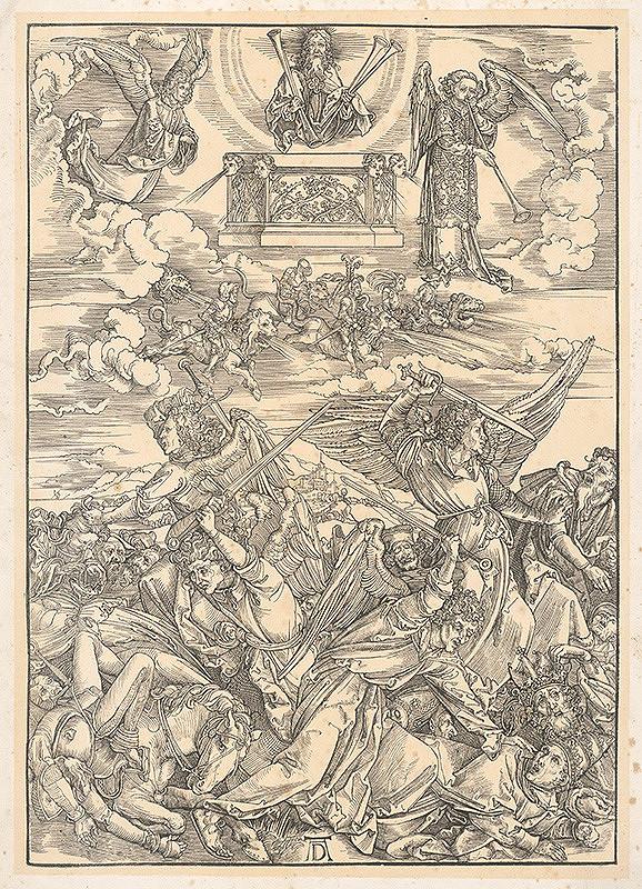 Albrecht Dürer – Boj anjelov