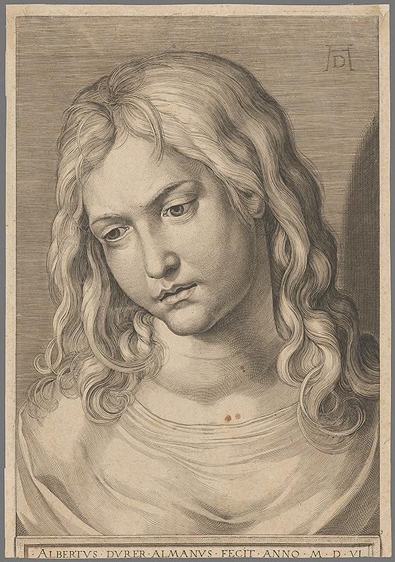 Albrecht Dürer - Kristus ako chlapec