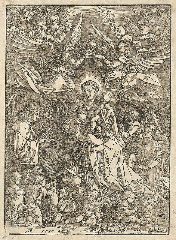 Albrecht Dürer – Madona ako kráľovná anjelov
