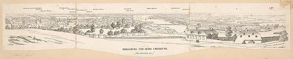 Stredoeurópsky grafik z 1. polovice 19. storočia – Bratislava a okolie