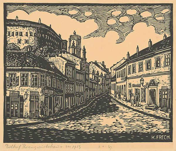 Karol Frech - Endlov dom a zájazdný hostinec v Bratislave
