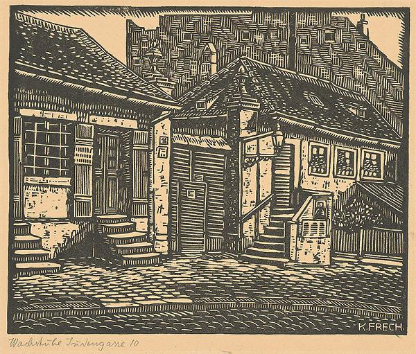 Karol Frech – Strážnica na Židovskej ulici v Bratislave