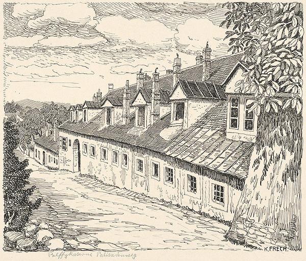 Karol Frech – Pálffyovská kasáreň v Bratislave