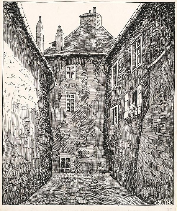 Karol Frech – Pekárska veža v Bratislave