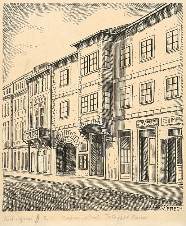 Karol Frech – Academia Istropolitana v Bratislave