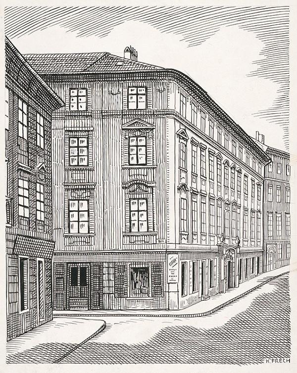 Karol Frech - Dom na Ventúrskej ulice č.15 v Bratislave