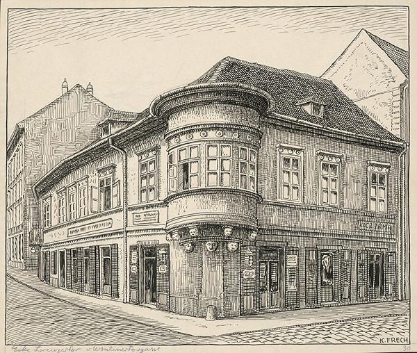 Karol Frech - Dom na rohu Uršulínskej a Laurinskej ulice v Bratislave