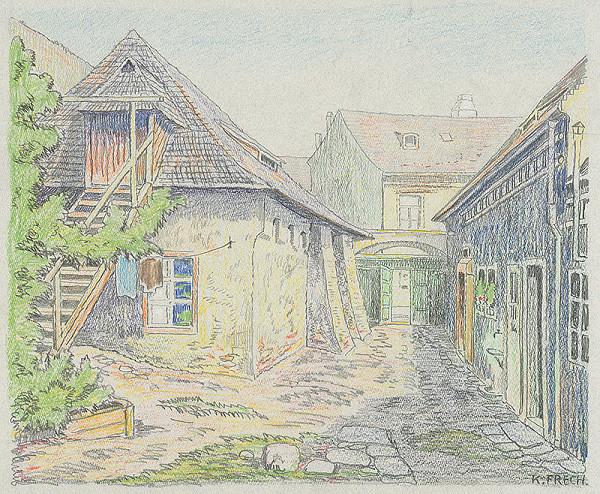 Karol Frech - Reťazový dom v Bratislave