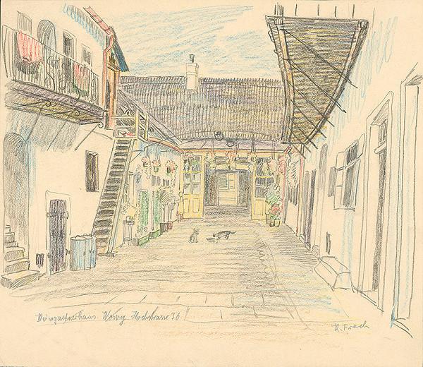 Karol Frech - Dom vinohradníka Wowyho, Vysoká ulica č. 36 (Hochstrasse)