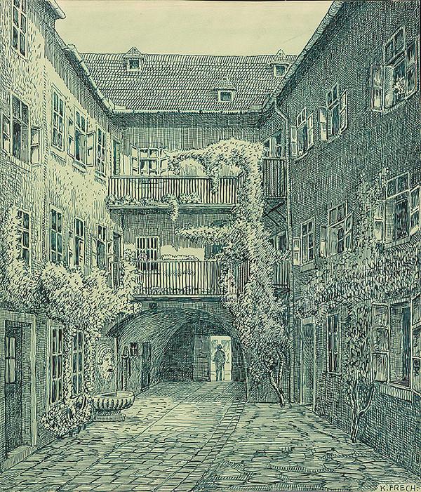 Karol Frech – Scharitzerov dom v Bratislave