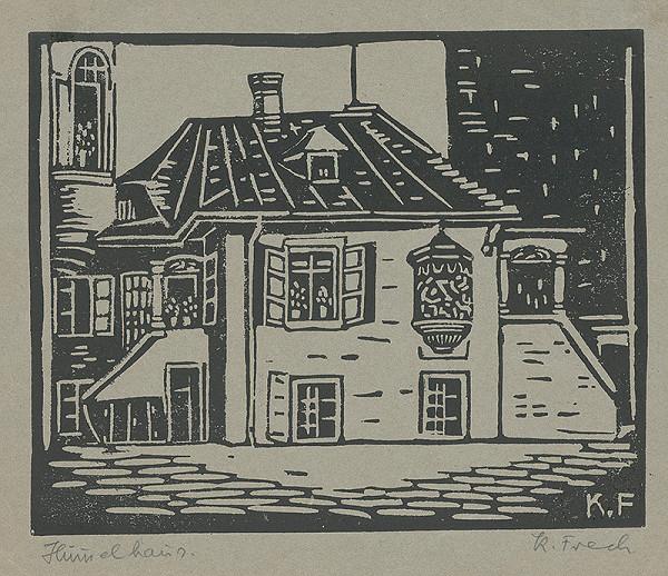 Karol Frech - Rodný dom J.N.Hummela v Bratislave