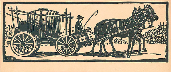 Karol Frech – Vinohradnícky voz