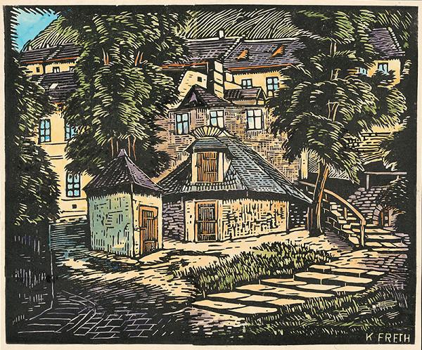 Karol Frech – Šťuková ulica v Bratislave