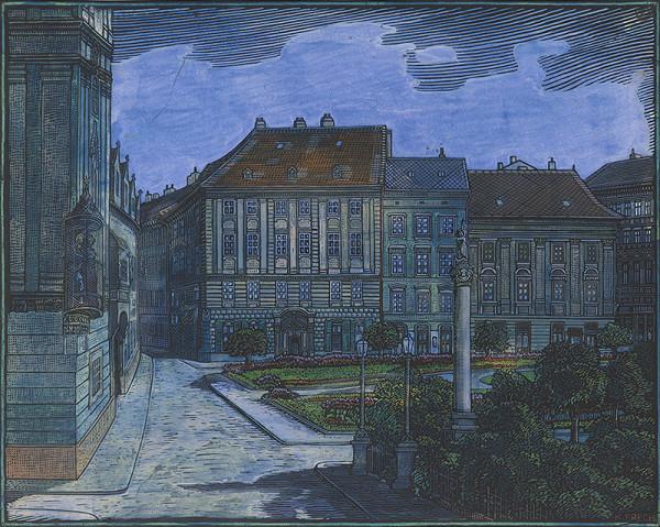 Karol Frech - Námestie 4. apríla - Bratislava