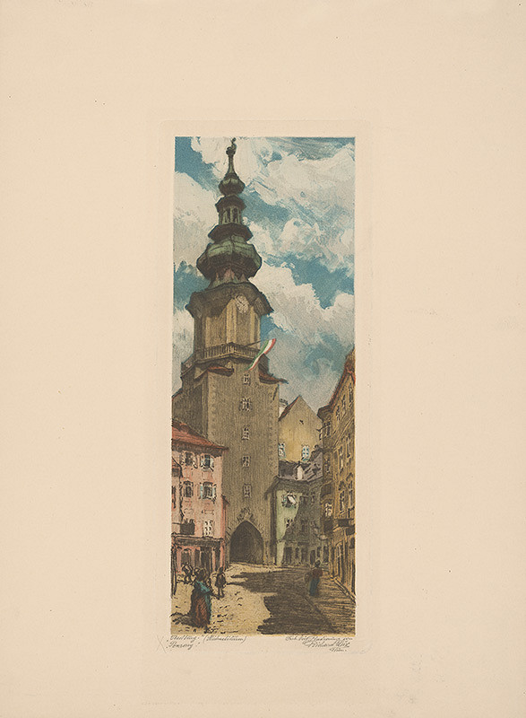 Richard Lux – Michalská veža v Bratislave