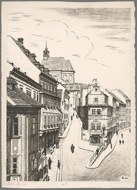 Stredoeurópsky grafik z 20. storočia – Dom U dobrého pastiera
