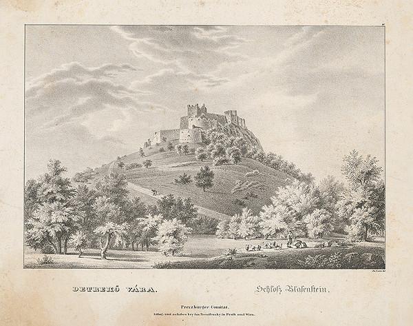 Jozef Anton Lántz – Plavecký hrad