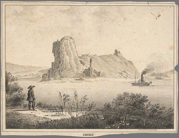 Jósef Gábriely – Devín v 19.storočí
