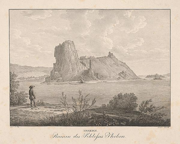 Jakob Alt - Zrúcaniny hradu Devín