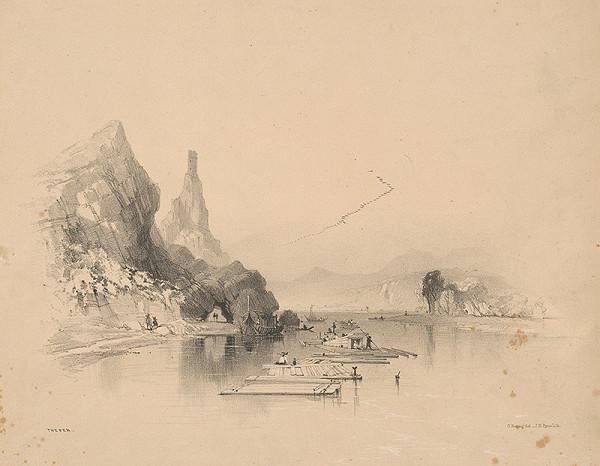 James Baker Pyne, George Edwards Hering – Devín v 19. storočí