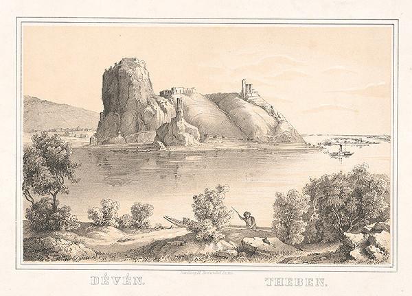 František Pracher – Devín v 19. storočí
