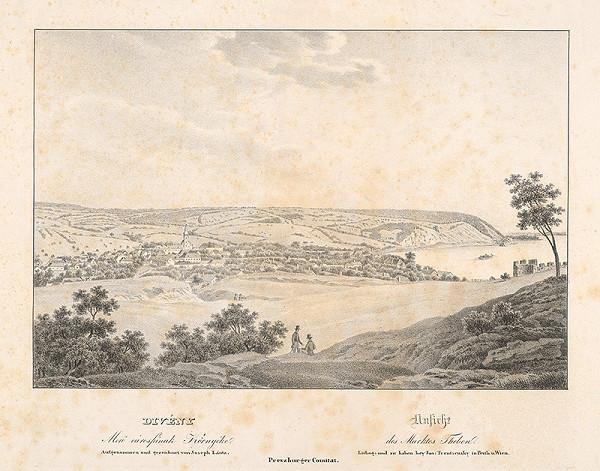 Jozef Anton Lántz – Obec Devín v 19.storočí