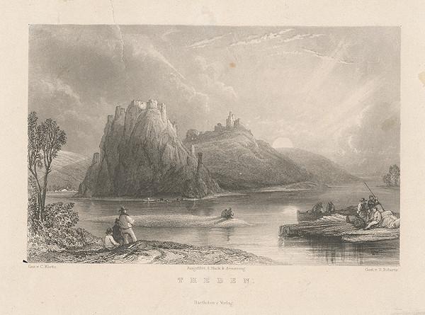 Edward Roberts, Karol Klette z Klettenhofu – Devín v 19. storočí