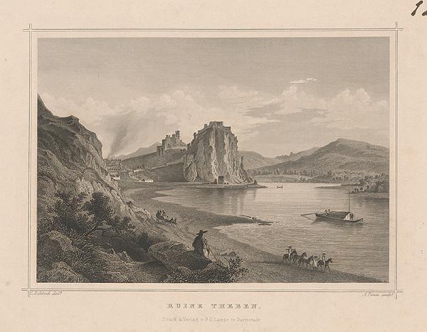 Ludwig Rohbock, A. Fesca – Zrúcaniny Devína