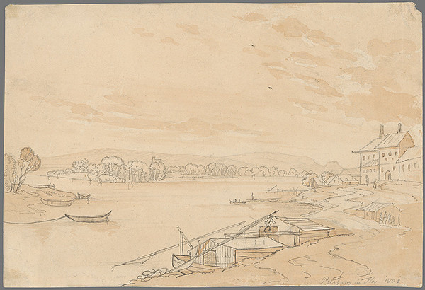 Stredoeurópsky grafik z 19. storočia - Dunajská krajina