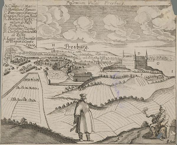 Lucas Schnitzer – Bratislava zo severozápadu